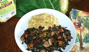 Cheese Grits and Collard Greens Recipes